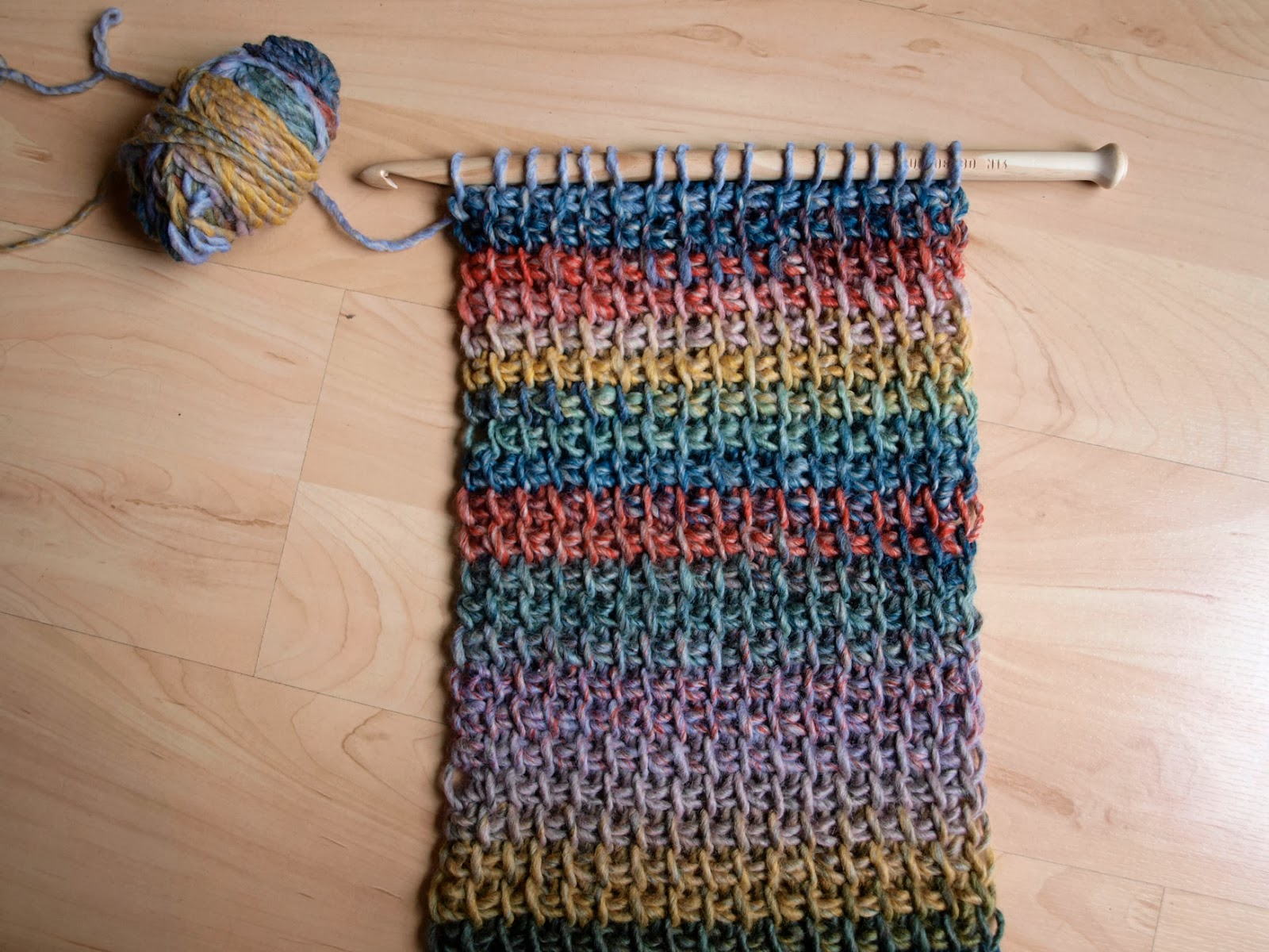 Taller bufanda circular a ganchillo xl que hacer en murcia - Hacer una manta de ganchillo ...