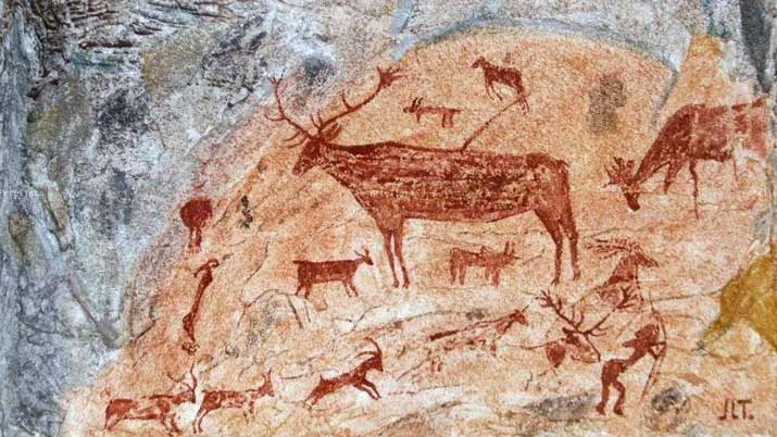 Resultat d'imatges de pintures rupestres