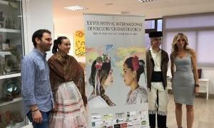 El Festival Internacional de Folclore Ciudad de Lorca celebra su XXVIII edición