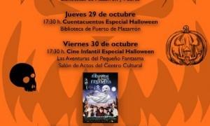 Semana de Halloween en las bibliotecas de Mazarrón 2015
