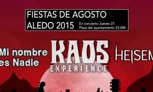 Concierto Fiestas de Aledo 2015