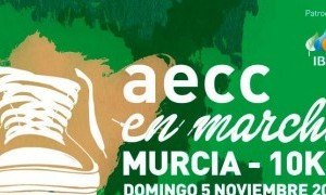 El 5 de Noviembre se celebra una nueva edición de la marcha solidaria de AECC en Murcia