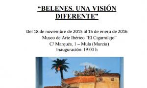 Exposición de belenes 2015 en Mula