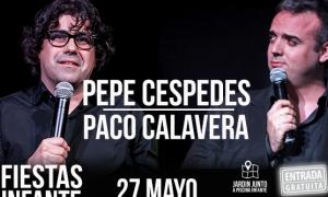 Pepe Céspedes y Paco Calavera en las Fiestas del Infante Juan Manuel