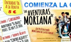 Proyección de las Aventuras de Moriana