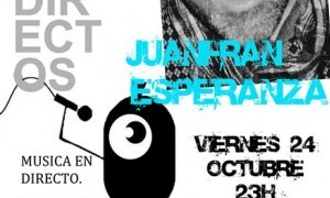 Concierto de Juanfran Esperanza en la MOMA
