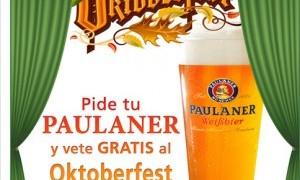 Vive la Oktoberfest gratis con Paulaner