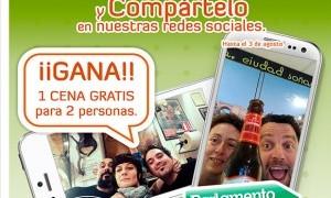 Gana 1 cena para 2 personas  en el Parlamento Andaluz
