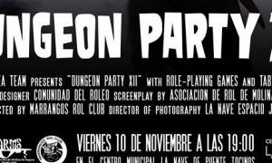 """El Centro municipal LA NAVE acoge el viernes la duodécima edición de la """"Dungeon Party"""""""