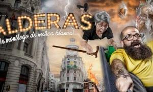 El cómico Kalderas presenta su nuevo show en Alcantarilla