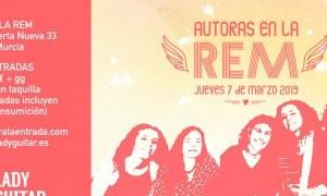 María Mulero, Bonica, She Robin y Eliana Poveda en la Sala REM