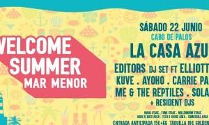 Welcome Summer Mar Menor 2019