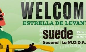 Welcome Estrella de Levante 2019 con Suede, Second y La M.O.D.A