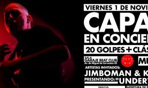 Capaz en Garaje Beat Club