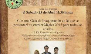 Inauguración Academia de las Artes Mágicas y Escénicas de Murcia