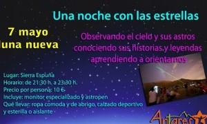 Noche Astronómica en Sierra Espuña