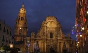 Ya está instalado el Belén Municipal de Murcia en el Palacio Episcopal