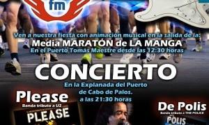 Media Maratón y Concierto de Rock & Run en Cabo de Palos