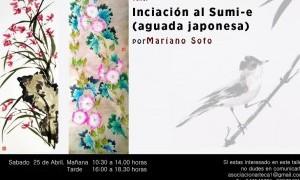 Taller de Iniciación a la Pintura Sumie