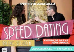 speed dating murcia Speed dating definition: a way of meeting people for possible romantic relationships that involves talking with a lot of people for a short time to see if you like them.